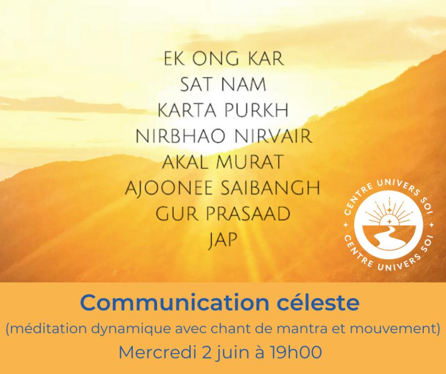 Méditation céleste (chant de mantra)