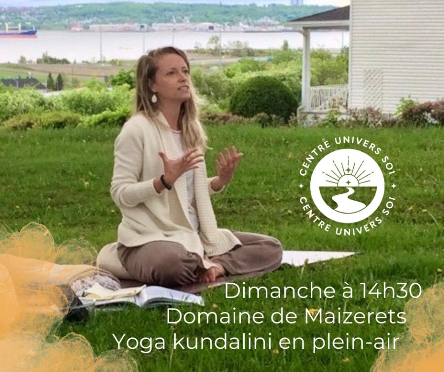 Yoga kundalini en plein-air